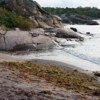 Ханко. Скалы, которые гладкими языками сползают в залив :: Елена Павлова (Смолова)