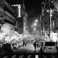 Дождливой ночью в Шанхае. :: Екатерина Цзян
