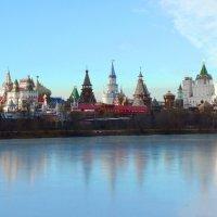 Скованный льдом Серебряно-Виноградный пруд :: Galina Leskova