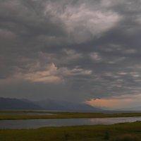 Дождь в Ангарском соре :: val-isaew2010 Валерий Исаев