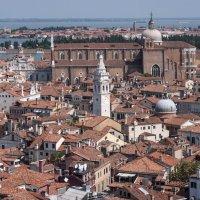 Венеция, вид с колокольни Сан Марко на северо-восток. :: Виталий Авакян