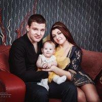Александр,Кристина и Лера :: Константин Денисов