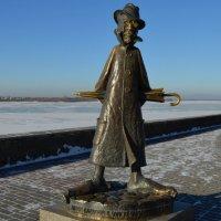 Памятник Чехову в Томске :: Вера Андреева