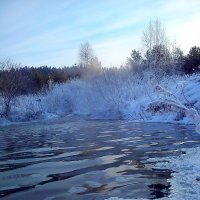 Зимняя река 4 :: оксана савина