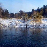 Зимняя река :: оксана