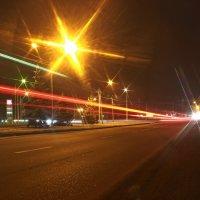 Огни ночного города :: Олег Петрушин