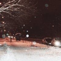 Снегопад :: Кристина Щукина