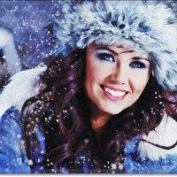 Девушка-зима :: Лидия (naum.lidiya)