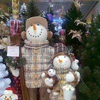 Снеговики. :: Маргарита ( Марта ) Дрожжина