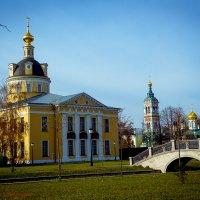**Храмы Рогожского кладбища Покровский собор старообрядческой Рогожской общины (Летний храм во имя П :: Viktor Nogovitsin