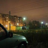 Ночная Пристань. :: Алексей Лукаев
