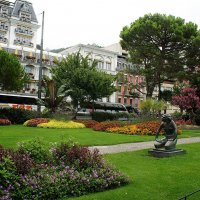 Парк напротив Монтрё-Палас :: Елена Павлова (Смолова)