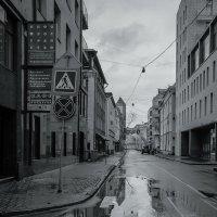 Улицы московские ...Курсовой переулок :: Наталья Rosenwasser