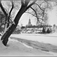 Торжок, графика зимы :: Надежда Лаврова