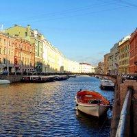Река Мойка. Зелёный мост. :: Владимир Гилясев