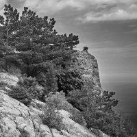 Скала и небо. :: Андрий Майковский