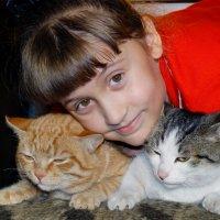мои коты - мое богатство :: Юлия Мошкова