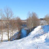 Зимняя река :: Рудаков Сергей