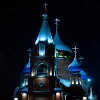 """Храм в честь Пресвятой Богородици """"Всех скорбящих Радость"""" г.Губаха :: Мансур Хаснутдинов"""