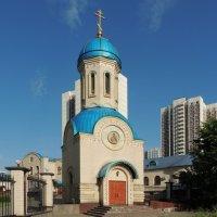 Часовня Александра Невского в Орехово-Борисове. :: Александр Качалин