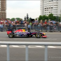 Показательный заезд Infiniti Red Bull Racing RB7. :: Anna Gornostayeva