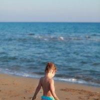 В лучах закатного солнышка на Золотом пляже, п-ов Карпасия... 7 км песка - только для нас :) :: Anna Lipatova