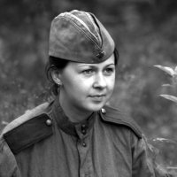 Радистка. :: Дмитрий Иншин