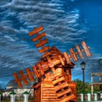 Тобольск. Копия ветряной  мельницы :: Марк