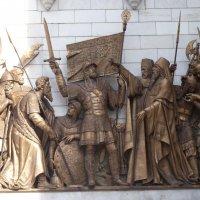 Горельеф Северного фасада Храма Христа Спасителя :: Galina Leskova