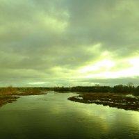 дали дальние...река Луга...декабрь :: Михаил Жуковский
