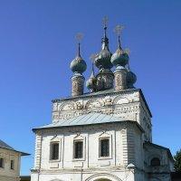 Надвратная церковь Иоанна Богослова :: Сергей Цветков