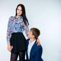 Женя + Аня :: Виктор Твердун