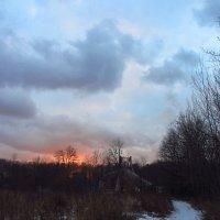 IMG_8093 - Закат самого короткого дня в году :: Андрей Лукьянов
