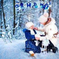 В зимнем лесу :: Марина Зотова