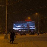 Мурманск, полярная ночь :: Наталья Василькова