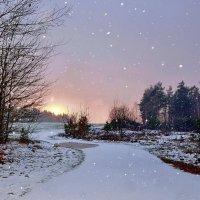 Вот  и  снег.  Декабрь. :: Валера39 Василевский.