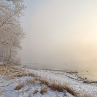 Солнце над Енисеем :: Евгений Герасименко