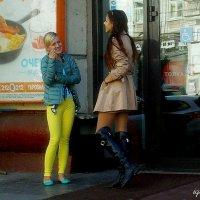 Не  там  стоишь,  подруга  ...! :: Игорь Пляскин