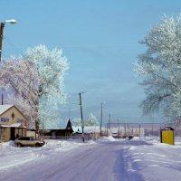 Магазин, остановка :: Евгений Алябьев