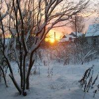 Зимний закат :: Нименская Елена