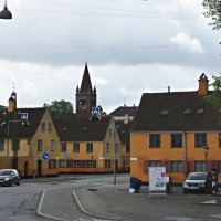 Копенганен. Нюбодер (Nyboder). Типичные датские дома :: Елена Смолова