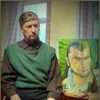 С портретом сына! :: Владимир Шошин