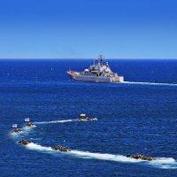 Парад ВМФ РФ и ВМС Украины :: Oleg Akulinushkin