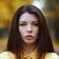 Осенний портрет Анастасии :: Shuvaevmedia Photo