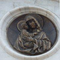 Образ Владимирской Божией Матери .Автор воссоздания Ю.Г. Орехов. :: Galina Leskova