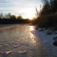 Лед на реке :: Вера Андреева