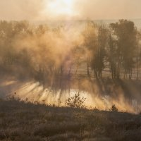 Восход в тумане :: Владимир Костылев