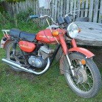 Мотоцикл Минск М-115 :: Дмитрий Стрельников