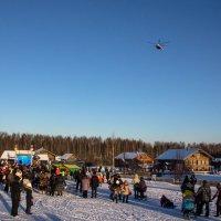 Дед Мороз летит на вертолете! :: Татьяна Копосова