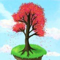 Волшебное дерево :: Дарьяна Вьюжанина